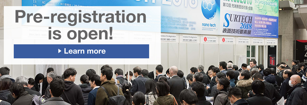 "Exhibitor Registration now on! Booth allocation is based on "";first come, first served"";"